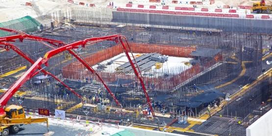 Barakah Nuclear Power Plant under construction