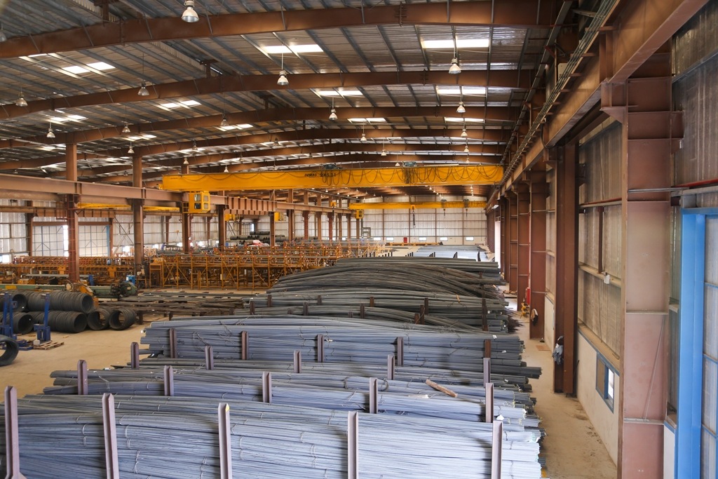 Our Plants | Emirates Rebar Limited